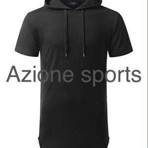 Short Sleeves Hoodie <br/> AS-2405